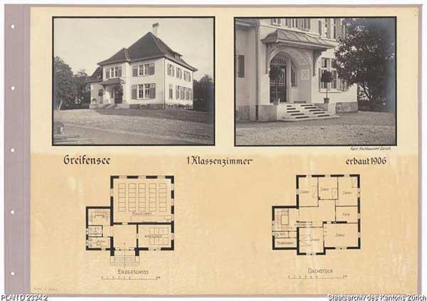 Neubau um 1907